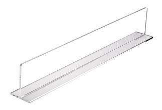 Warentrenner Acryl transparent, Artikel 9909028, FMU GmbH, Warentrenner, Blickfang