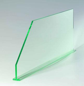 Warentrenner Glaslook, Artikel 9909014, FMU GmbH, Warentrenner, Blickfang