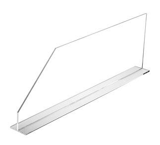 Warentrenner Acryl transparent, Artikel 9909021, FMU GmbH, Warentrenner, Blickfang