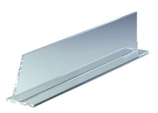 Warentrenner Acryl transparent, Artikel 9909013, FMU GmbH, Warentrenner, Blickfang