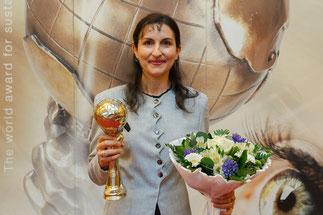 Gewinnerin Frau Prof.Azra Korjenic Bild: Florian Wieser