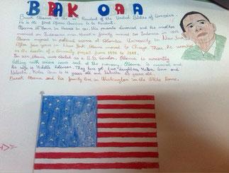 Barack Obama - by Madalina