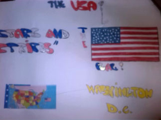Stars and Stripes and Washington DC - by Alessia and Valentina