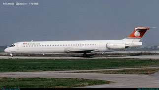 EI-CIW, acquistato da Meridiana a fine 1997. Provenienza TWA