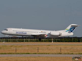 D-AOLG Fokker 100 11452 Avanti Air