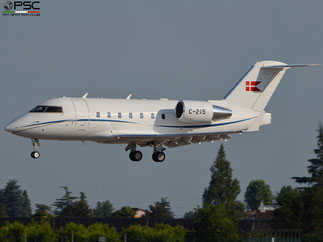 Royal Danish Air Force - C-215  CL-604 5515 Esk 721