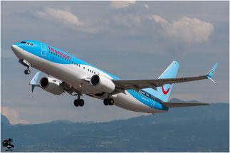 G-TAWP B737-8K5 37257/4412 Thomson Airways