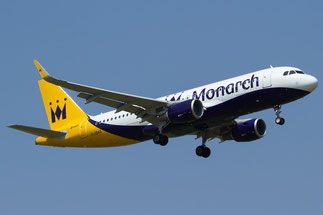 G-ZBAS A320-214 6550 Monarch Airlines