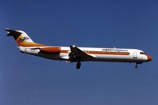 Alpi Eagles, vettore operante soprattutto nelle rotte verso Roma ed il Sud Italia