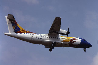 F-GPYC ATR42-500 484 Air Littoral