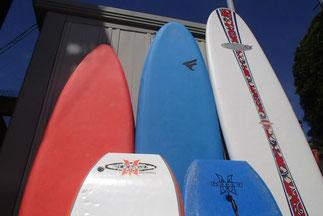 レンタル:サーフボード・ボディーボード