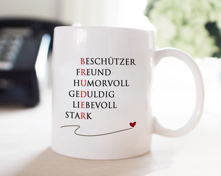 Kaffeetasse Bruder