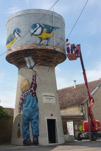 fresque-château-d'eau-montliot-courcelles-châtillon-sur-seine