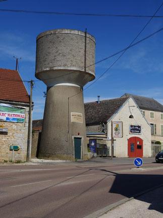 château d'eau Montliot et Courcelles