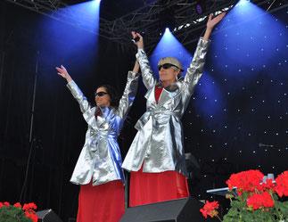 Anita & Alexandra Hofmann 2016 im Bündelti