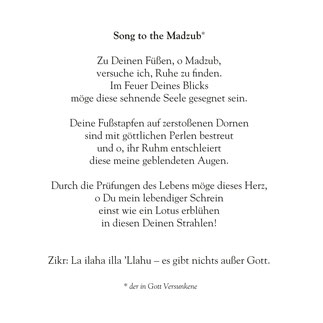 Song to the Madzub
