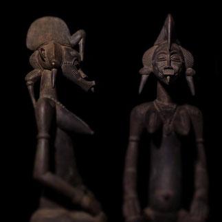 Senufo Maternite Figur Kunst