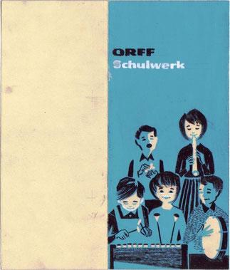 Orff-Schulwerk um 1960.