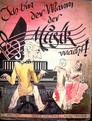 Musik-Notenmappe 1948.