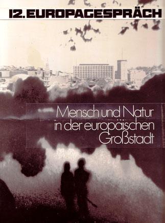 12. Europagespräch, Wien 1970. Plakat-Entwurf von Heinz Traimer.