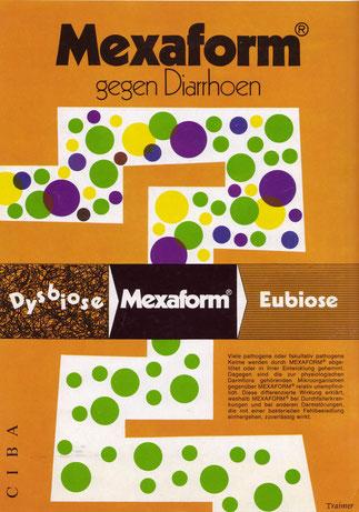 Mexaform Ciba Werbung 1971.