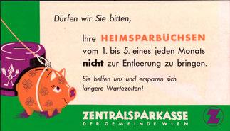 Sparschwein, Sparkasse, Sparkassenwerbung.