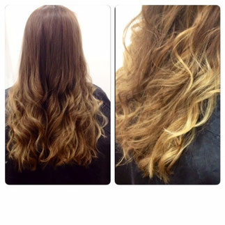 Suble Ombré Highlight and Cut