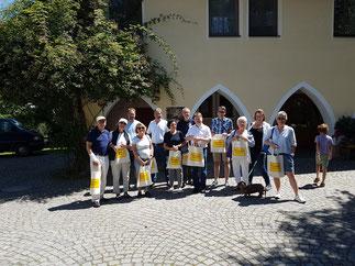 Besuch der Lebensgemeinschaft Münzinghof anl. der Präsidentschaftsübergabe