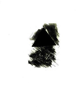incisione originale di Mario Benedetti - misura lastra 170x120 mm