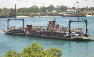 The Mombasa-Likoni Ferry.