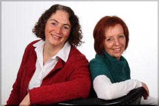 Sabine Reinker und Rita Schuh