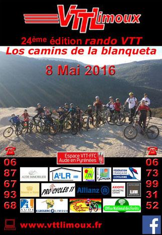 Los Camins de la Blanqueta - VTT Limoux