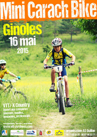 Affiche Mini Carach Bike 2015