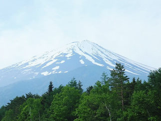 Mt. Fuji, view from the 1st Station of Fuji Subaru Line