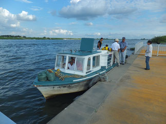 Akaiwa Ferryboat of Tone River