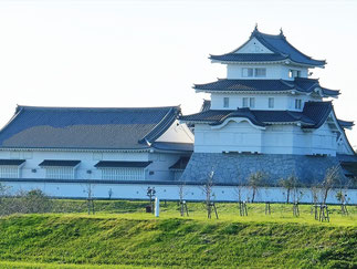 Sekiyado Castle Museum of Chima Prefecture