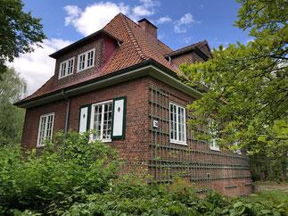 Das ,Organistenhaus' am Billwerder Billdeich 136 war früher das Heim des Kirchenmusikers.