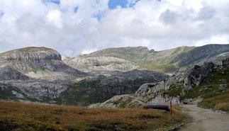 Blick vom Colle del Lago dei Signori