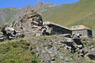Gipfelfestung am Col de Finestre