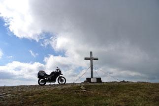 Gipfelkreuz auf 1.783 Meter