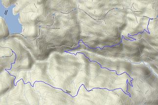 Alternativ-Strecke durchs Feistritztal