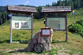 """""""Giro-Denkmal"""" am Scheitel"""