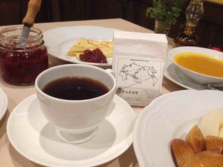 お客様に頂いたコーヒー。初オオヤコーヒー。とても美味しい深煎りでした。いつもありがとうございます。