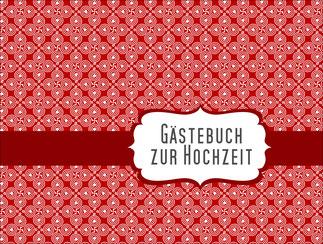 Gästebuch Rot