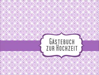 Gästebuch Flieder