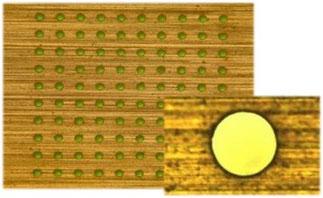 窒化珪素Φ35μm貫通穴(t0.3㎜)