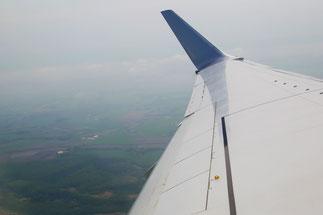 飛行機からの眺め1