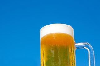 青空とビール2