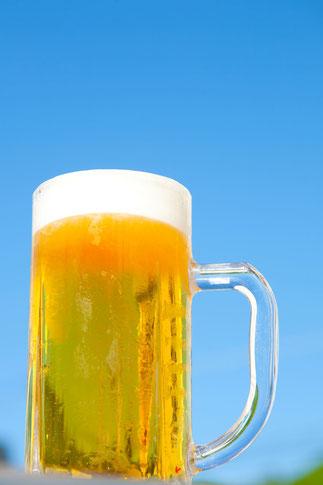 青空とビール3