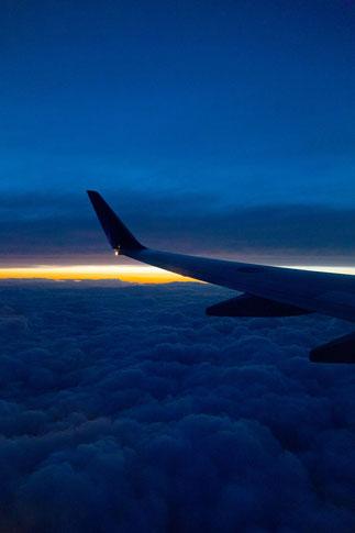 飛行機からの眺め19
